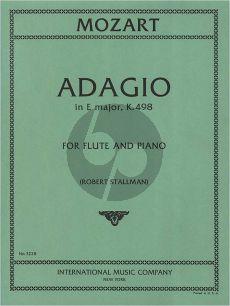 Mozart Adagio KV 261 (orig. Violin) Flute-Piano (arr. Robert Stallman)