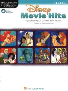 Movie Hits for Flute (Bk-Audio Access Code)