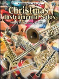 Christmas Instrumental Solos (Carols & Traditional Classics) (Alto Sax)