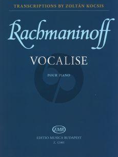 Rachmaninoff Vocalise Op.34 No.14 (Kocsis)
