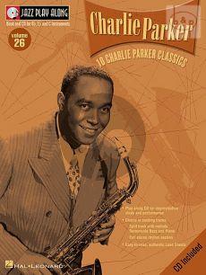 10 Charlie Parker Classics (Jazz Play-Along Series Vol.26)
