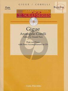 Gigue (Flute-Piano) (Bk-Cd)