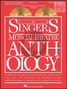 Singers Musical Theatre Anthology Vol.4 (Baritone-Bass)