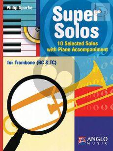 Super Solos (10 Selected Solos) (Trombone [TC/BC]-Piano)