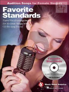 Audition Songs for Female Singers Favorite Standards