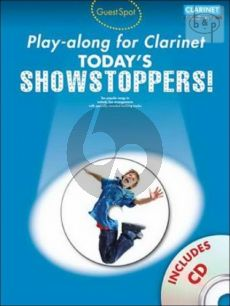 Guest Spot Today's Showstoppers Play-Along (Clarinet) (Bk-Cd)
