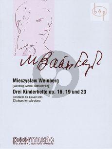 3 Kinderhefte Op.16 -Op.19 -Op.23