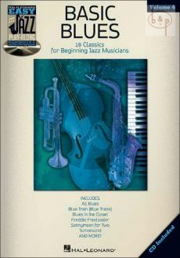 Basic Blues (Easy Jazz Play-Along Series Vol.4)