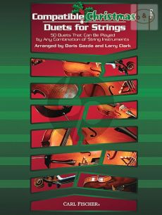 Compatible Christmas Duets for Strings (50 Duets that can be played by any combination of string instruments)