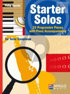 Starter Solos (20 Progressive Pieces) (Tenor Sax.-Piano)
