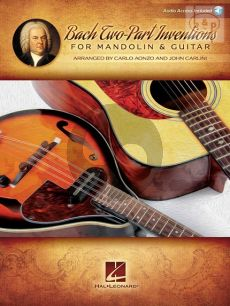 2 Part Inventions for Mandoline and Guitar