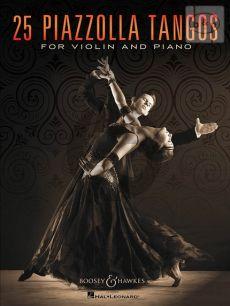 25 Piazzolla Tangos for Violin and Piano