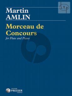 Morceau de Concours for Flute and Piano