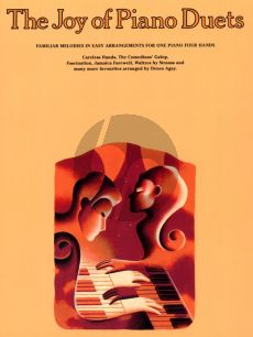 Album Joy of Piano Duets Piano 4 Hands (Familiar Melodies in Easy Arrangements) (Agay)