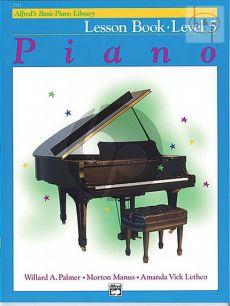 Lesson Book Level 5 Piano