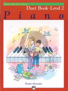 Alfred's Basic Piano Library Duet Book Level 2