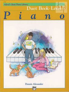 Alfred's Basic Piano Library Duet Book Level 3