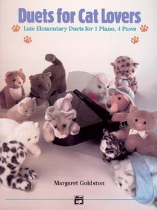 Goldston Duets for Cat Lovers Piano 4 hds