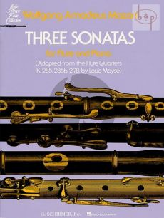 3 Sonatas for Flute and Piano