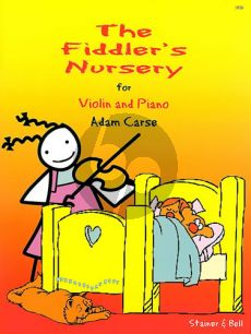 Carse Fiddler's Nursery Violin and Piano (12 easy Pieces)