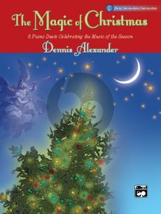 Alexander Magic of Christmas Vol.1 (8 Duets) Piano 4 hds. (Early Interm./Interm. Level)
