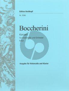 Boccherini  Concerto B-flat major Violoncello-Piano  (Grutzmacher)