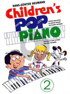 Heumann Childrens Pop Piano Vol.2 for Piano[Keyboard] (Easy-Intermediate)