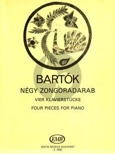 Bartok 4 Piano Pieces