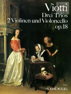 3 Trios Op.18 (2 Vi.-Vc.)