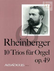 10 Trios Opus 49 Orgel
