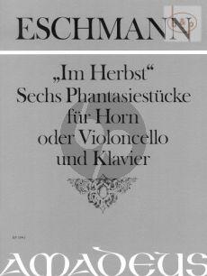 Im Herbst (6 Phantasiestücke) Op.6