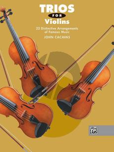 Trios for Violins (Cacavas)
