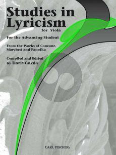 Gazda Studies in Lyricism for Viola