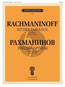 Rachmaninoff Etudes Tableaux Op.33 and Op.39 Piano Solo