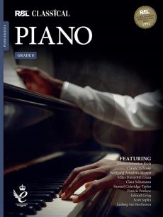 RSL Classical Piano Grade 8 (2021) (Book with Audio online)