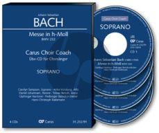 Bach Messe h-moll BWV 232 Soli-Choir-Orch. Bass Chorstimme 3 CD's (Carus Choir Coach)