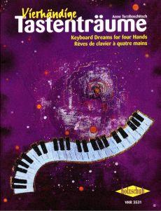 Terzibaschitsch Vierhandige Tastentraume Vol.1 (Klavierstucke im 5-Ton-Raum)