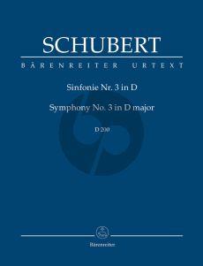 Schubert Symphonie No.3 D-dur D.200 Studienpart.