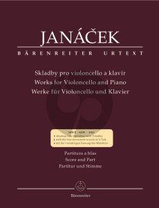 Janacek Works for Cello and Piano (edited by Fukac-Havlik)