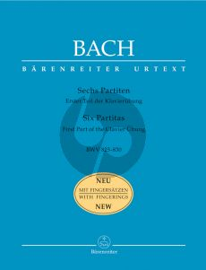 Bach 6 Partitas (BWV 825-830) (edition with Fingering)
