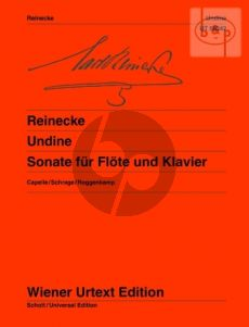 Sonate Undine Op.167 Flute-Piano
