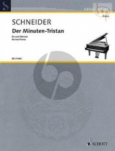 Der Minuten-Tristan (2011) (2 Piano's) (2 Scores)