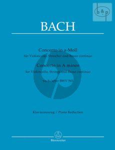 Concerto a-minor after BWV 593 (Vc.-Str.-Bc) (Score)