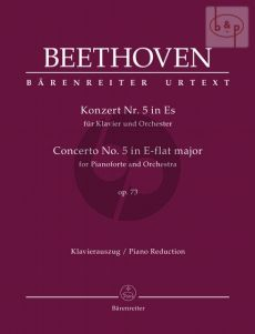 Concerto No.5 E-flat major Op.73 Piano and Orchestra (red. 2 Piano's)