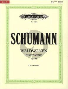 Schumann Waldszenen Op.82 Piano solo (Hans Joachim Köhler)