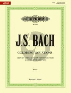 Bach Goldberg Variationen Klavier (Soldan)