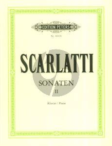 Scarlatti 150 Sonaten Vol.2 Klavier (Keller-Weismann)