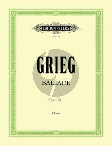 Grieg Ballade g-moll Op.24 Piano