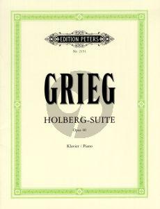 Grieg Holberg Suite Op. 40 Klavier