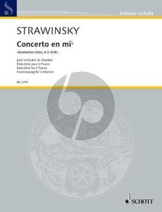 Concerto in E-flat Dumbarton Oaksv